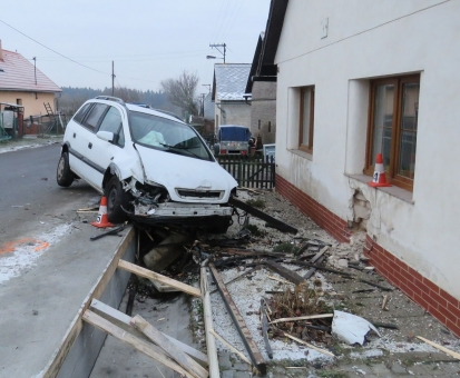 Dopravní nehodovost na Příbramsku v roce 2017