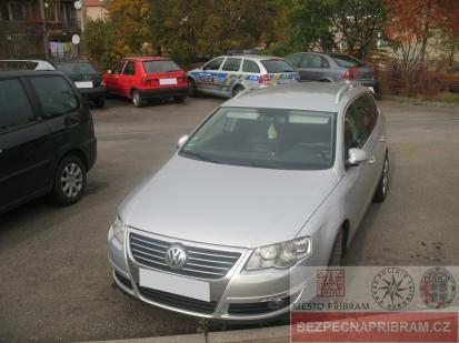 Poškozené vozidlo VW Passat - případ č. 326314.17