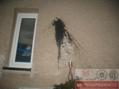 Poškození fasády domu - případ č. 366648.17