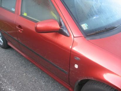 Poškození auta - případ č. 384237.15