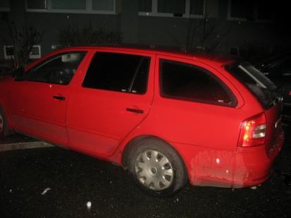 Vloupání do auta - případ č. 391599.15