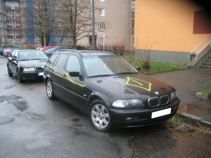 Poškození auta - případ č. 392268.15
