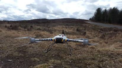 Policejní drony odhalily rozdělané ohně v CHKO