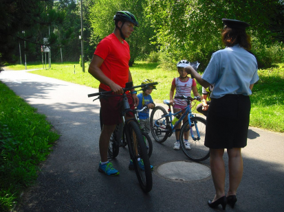 Kontrola jízdních kol